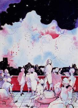 July 4th (Macy's Fireworks) Художествено Изкуство