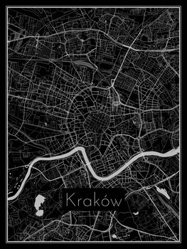 Карта на Kraków