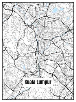 Карта на Kuala Lumpur