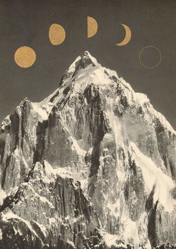 Moon Phases Художествено Изкуство