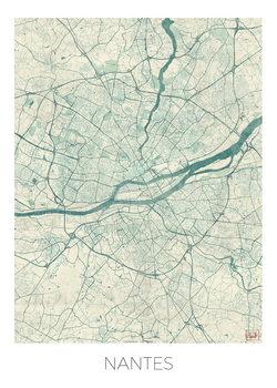Карта на Nantes
