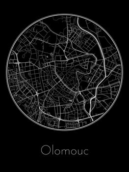 Карта на Olomouc