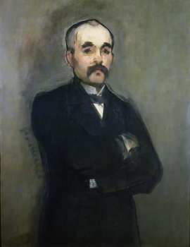 Portrait of Georges Clemenceau (1841-1929) 1879 Художествено Изкуство
