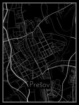Карта на Prešov