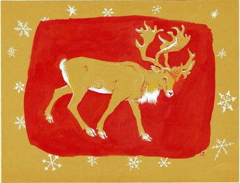 Reindeer, 1960s Художествено Изкуство