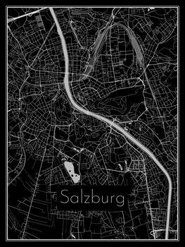 Карта на Salzburg
