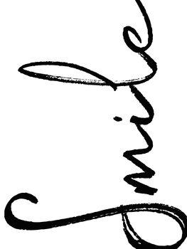 илюстрация smile