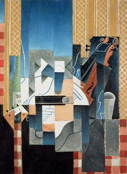Still Life with Violin and Guitar, 1913 Художествено Изкуство