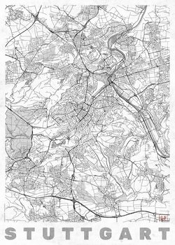 Карта на Stuttgard