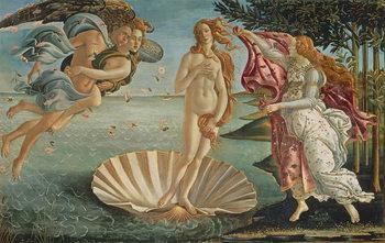 The Birth of Venus, c.1485 Художествено Изкуство