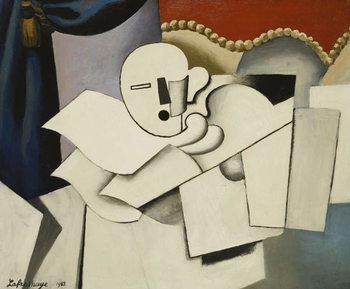 The Clown; Le Pierrot, 1922 Художествено Изкуство