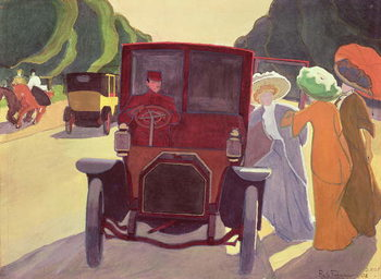 The Road with Acacias, 1908 Художествено Изкуство