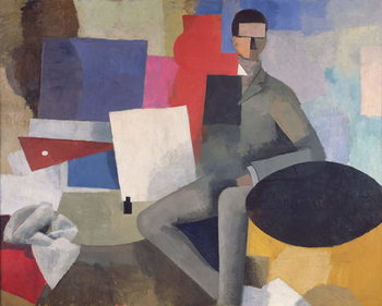 The Seated Man, or The Architect Художествено Изкуство