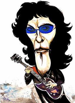 Tommy Iommi - caricature Художествено Изкуство