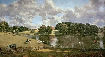 Wivenhoe Park, Essex, 1816 Художествено Изкуство