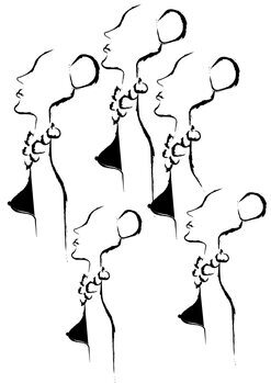 илюстрация Women