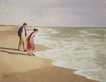 By the Sea Художествено Изкуство