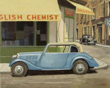 English Chemist Художествено Изкуство
