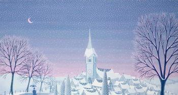 Henri's winter innocence Художествено Изкуство