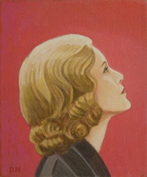 Hitchcock Blonde Художествено Изкуство