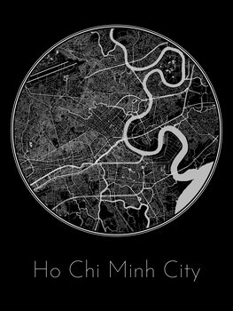 Map Ho Chi Minh City