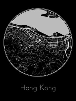 Map Hong Kong