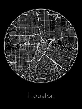 Map Houston