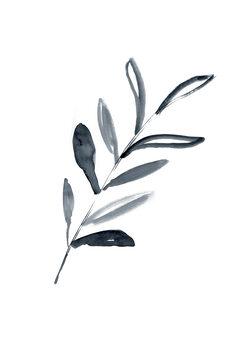 илюстрация Inky sprig