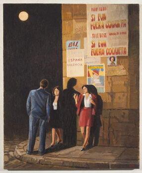 Let the Moon Hang Low Художествено Изкуство