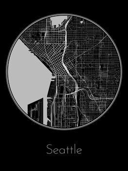 Map Seattle