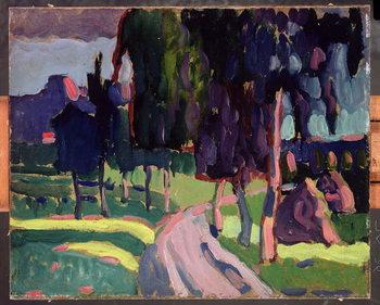 Summer at Murnau, 1908 Художествено Изкуство
