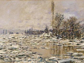 The Break-up of the Ice, 1880 Художествено Изкуство