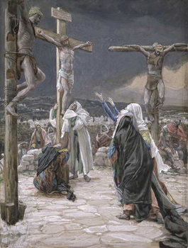 The Death of Jesus, illustration for 'The Life of Christ', c.1884-96 Художествено Изкуство