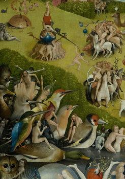The Garden of Earthly Delights, 1490-1500 Художествено Изкуство