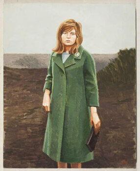 The Green Coat Художествено Изкуство