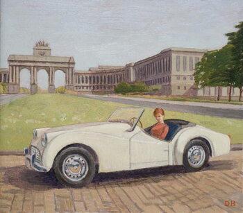 Triumph in Brussels Художествено Изкуство