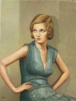 Woman of Mayfair Художествено Изкуство