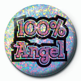 100% ANGEL Insignă