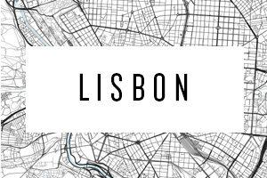 Karte Lisabon