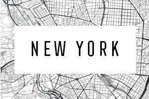 Karte New York City