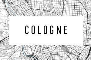 Cartes de Eau de Cologne