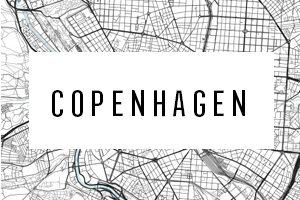 Kart over København