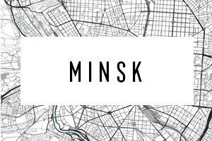 Hărți Minsk