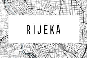 Cartine di Rijeka