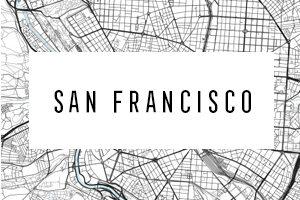 Mapy San Francisco