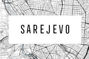 Cartine di Sarajevo