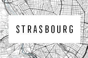 Mapy Štrasburk