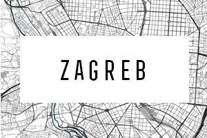 Cartine di Zagreb