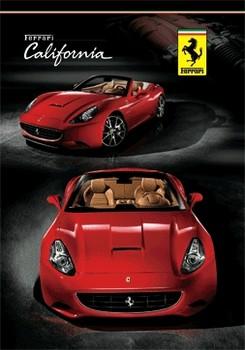 3D Плакат Ferrari - california