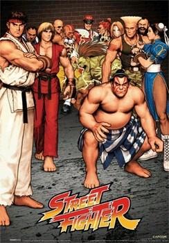 3D Плакат STREET FIGHTER